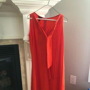 Escada orange dress, tags on, never worn